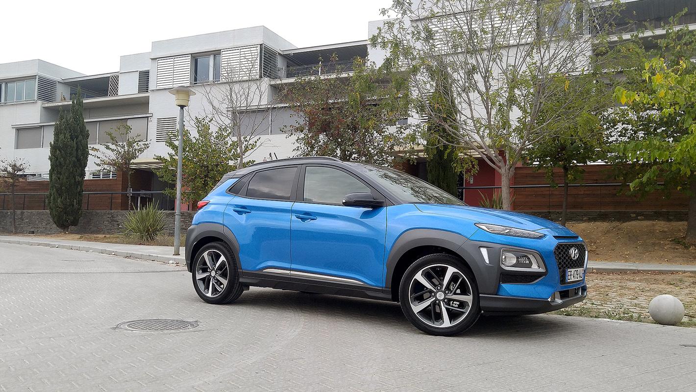 Odważna stylistyka Hyundai Kona