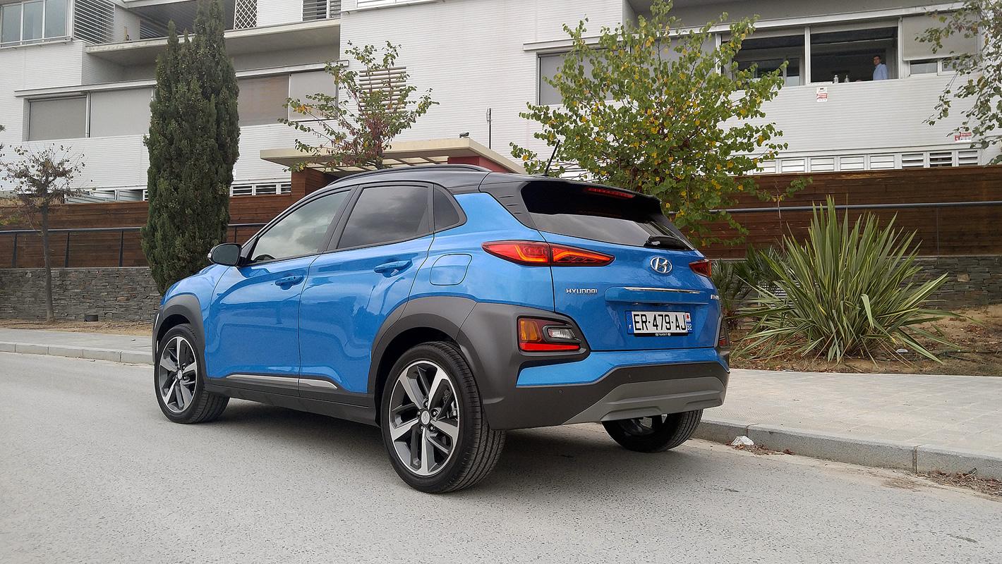Hyundai Kona z silnikiem 1.0 T-GDi