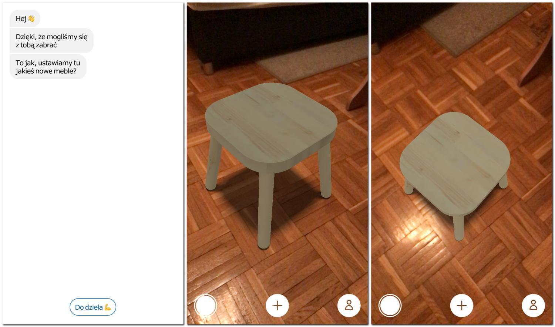 IKEA Place pozwoli Ci ustawić wirtualne meble we własnym domu