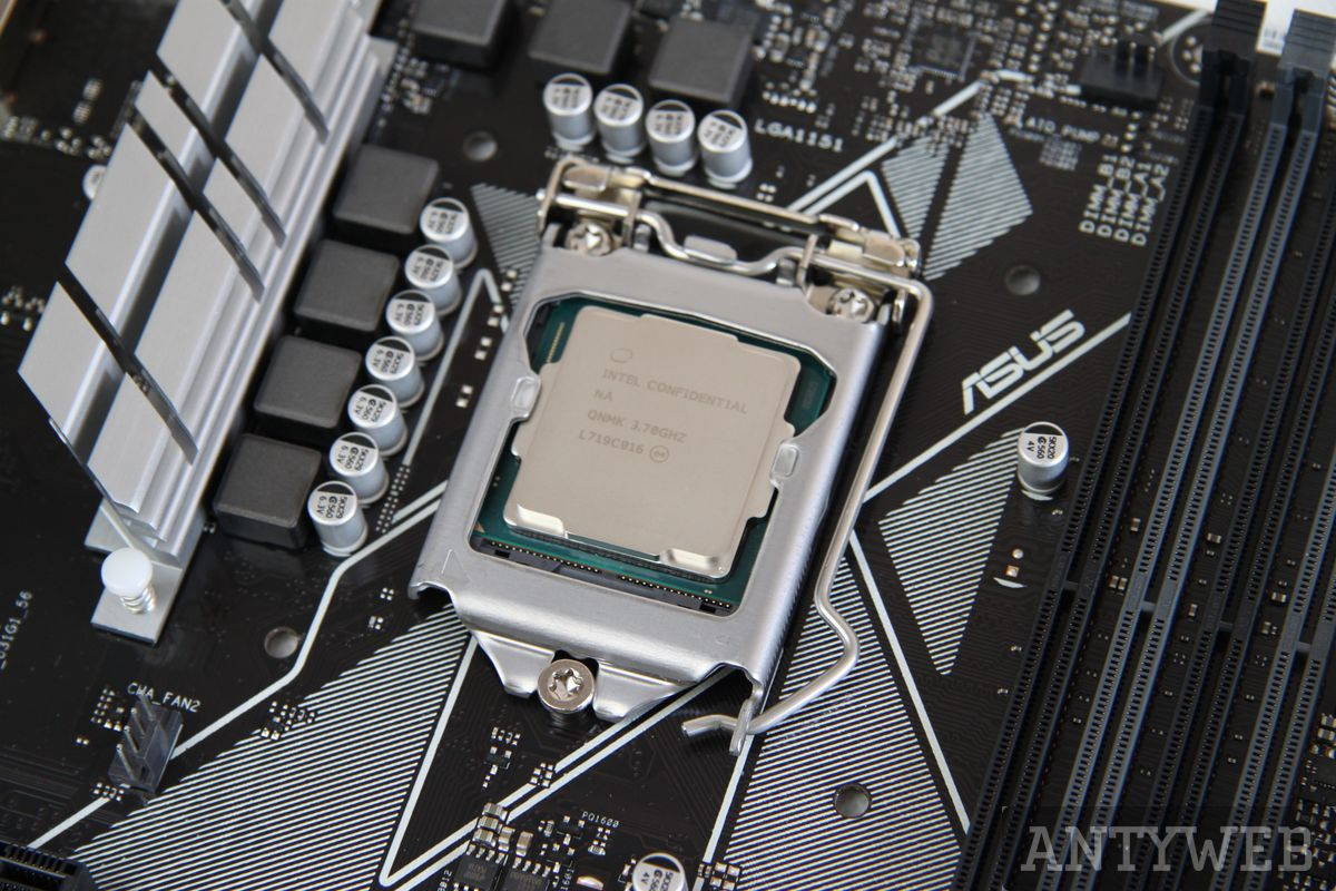Intel Core i7-8700K - socket LGA 1151