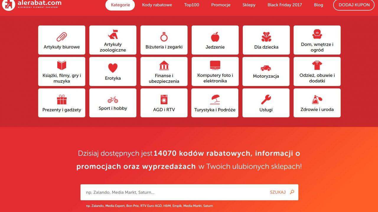 AleRabat.com strona główna