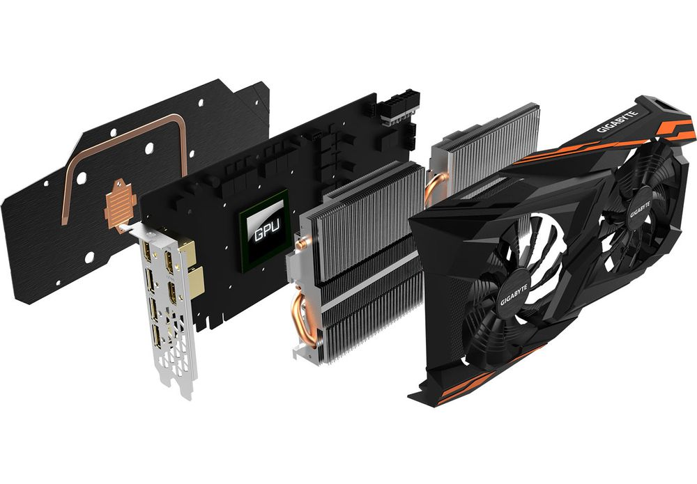Gigabyte RX Vega Windforce chłodzenie