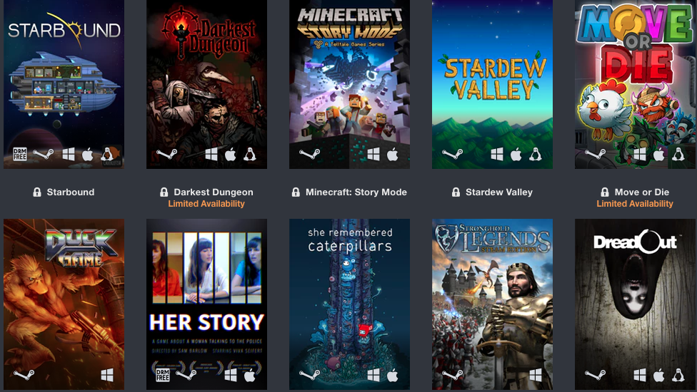 lista gier do kupienia - humble charity bundle