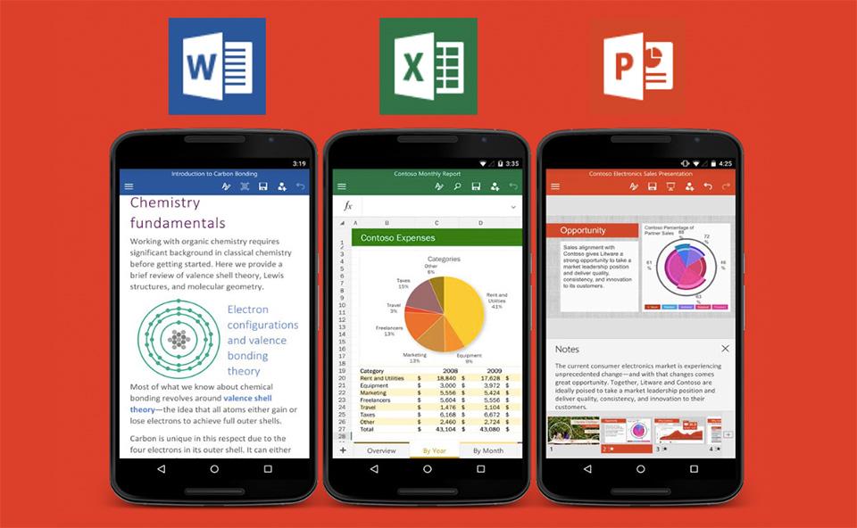 Microsoft Office pakiet - excel, word, powerpoint
