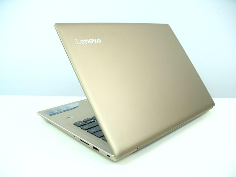 Złoty ultrabook Lenovo IdeaPad 520s