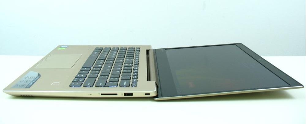 Maksymalny kąt otwarcia Lenovo IdeaPad 520s