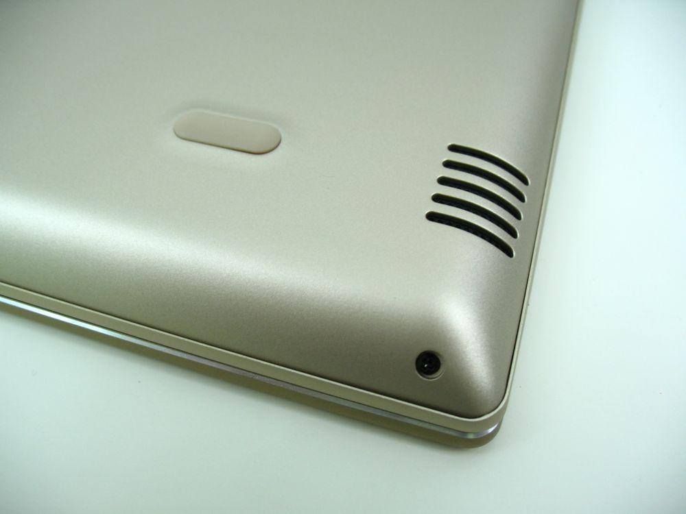 Ultrabook Lenovo posiada również głośniki zDolby Audio.