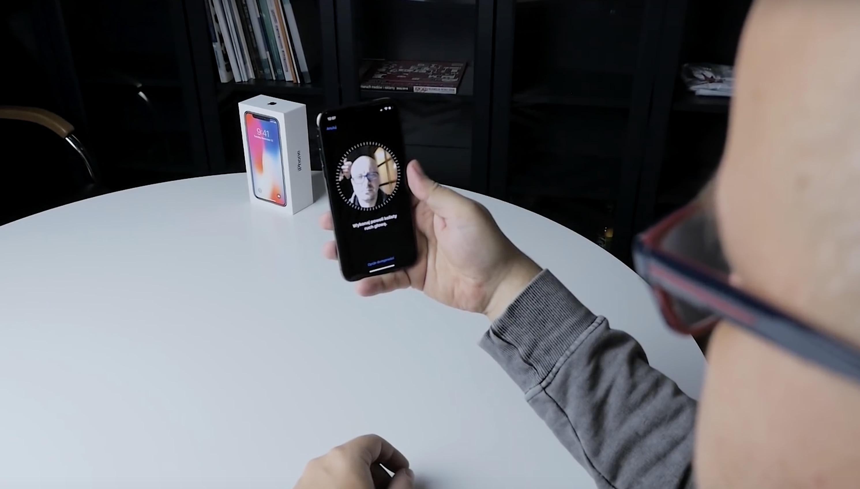 Face ID w Iphone X