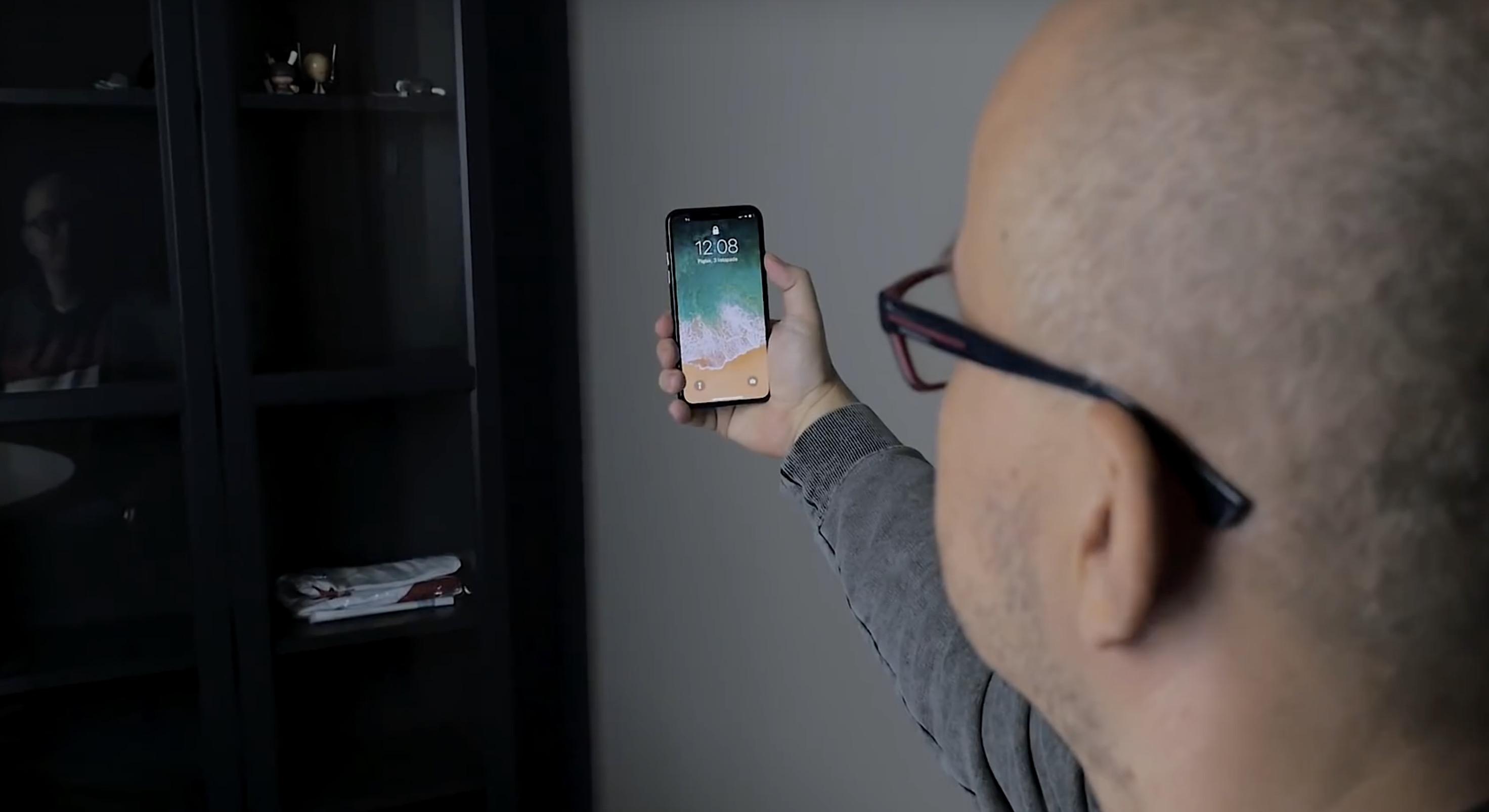 Działanie Face ID w iphone X