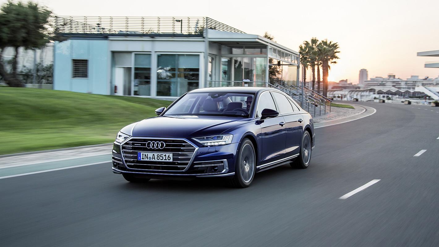 Bezpieczeństwo przede wszystkim wnowym Audi A8