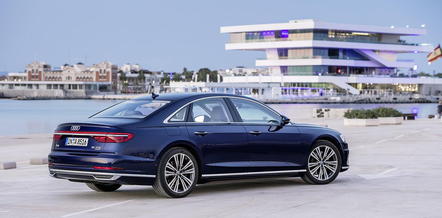 Luksusowe Audi A8