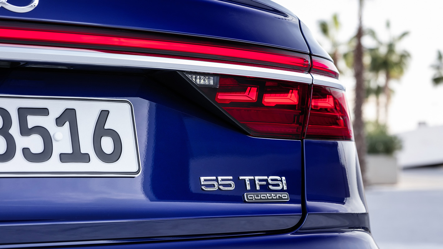 Nowe Audi A8 55 TFSI