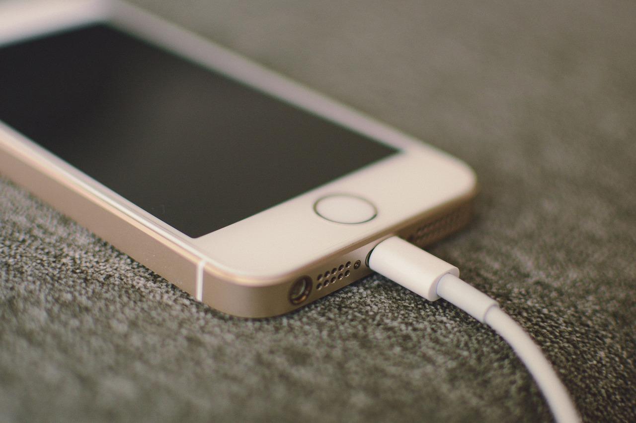 apple iphone ładowanie