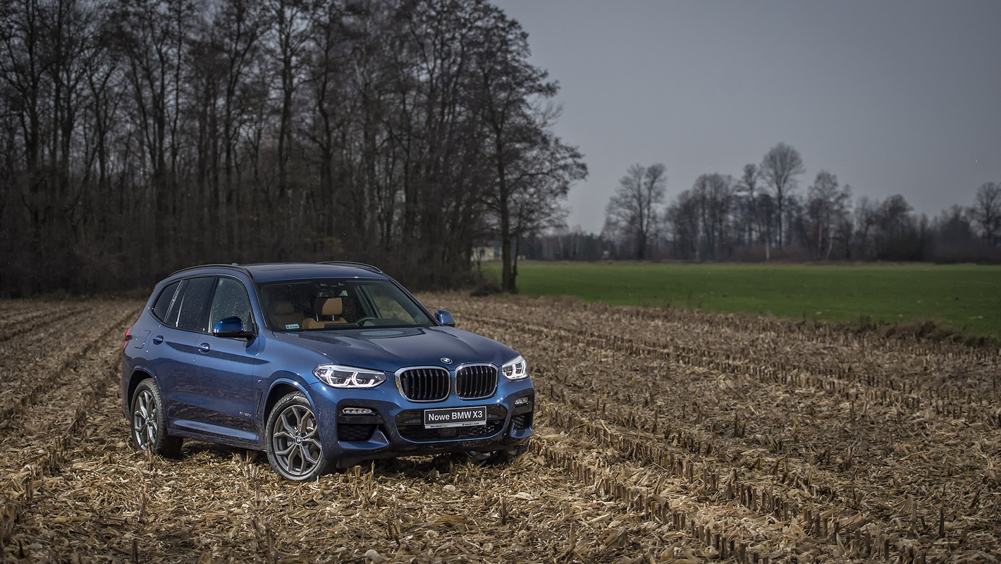 Nowe BMW X3 - nowa stylistyka