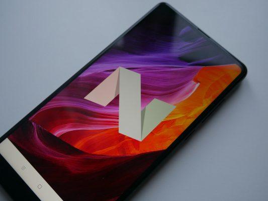 w M Mix 2 znajdziemy Androida 7.1.1 Nougat