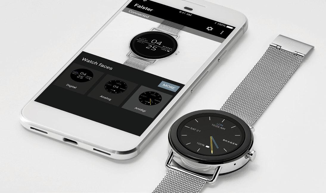 SKAGEN smartwatch Android