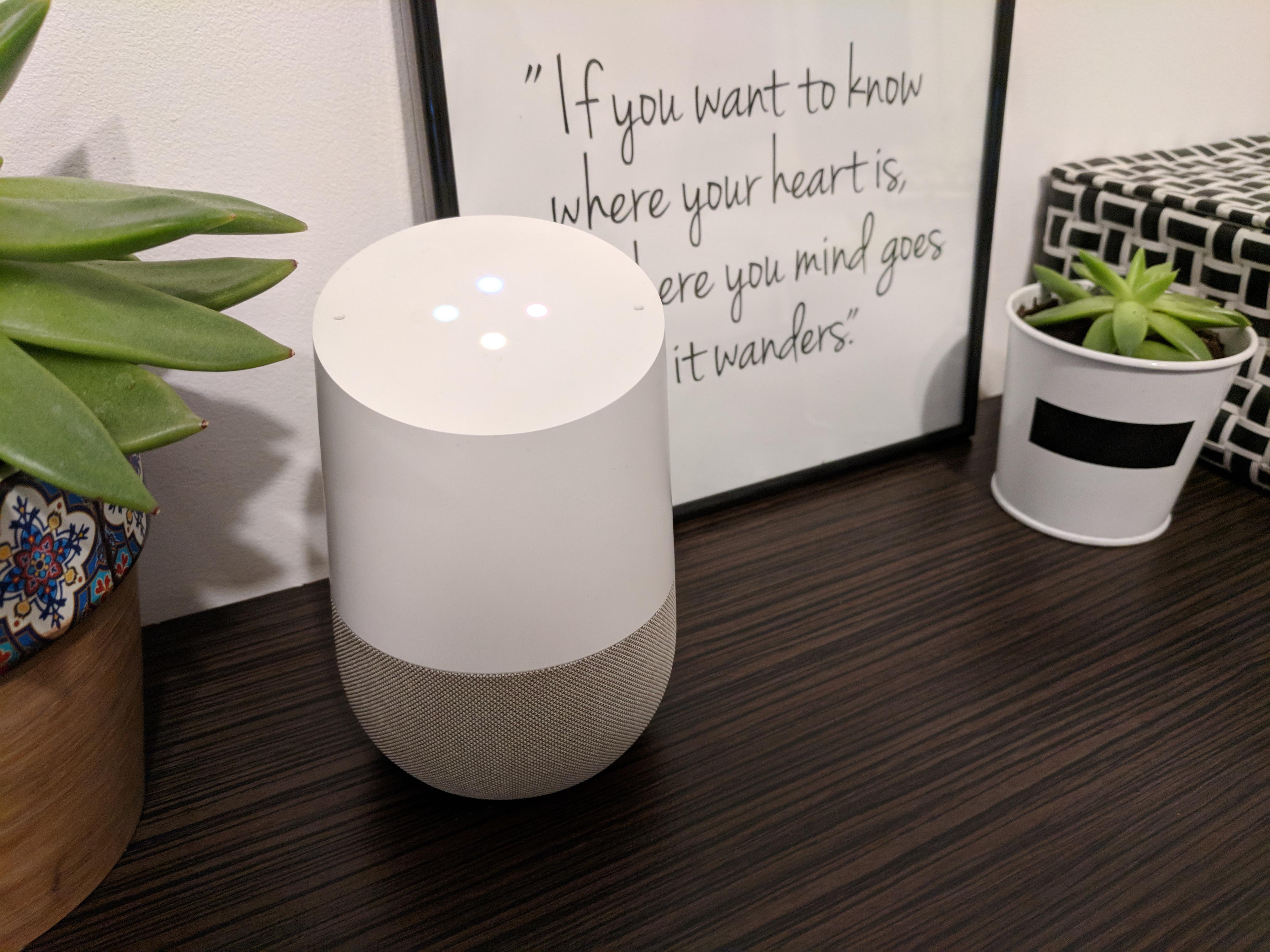 inteligentny głośnik google home