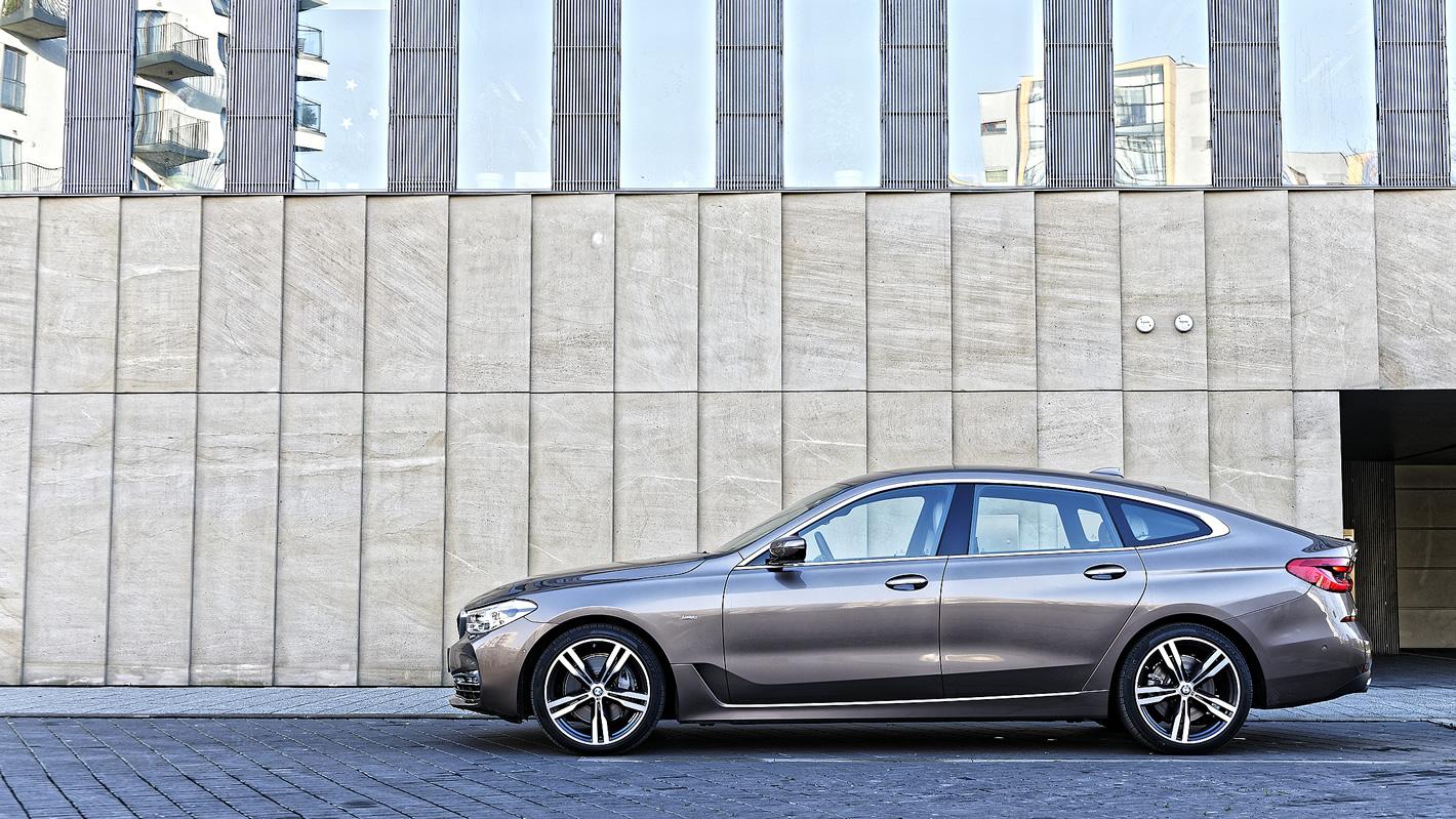 BMW Serii 6 Gran Turismo zboku