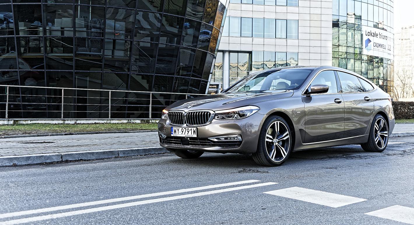 BMW Serii 6 Gran Turismo - luksusowy charakter