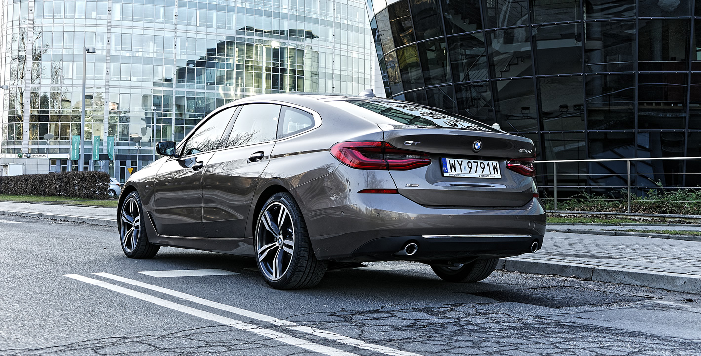 BMW Serii 6 Gran Turismo - zaawansowane systemy wsparcia kierowcy