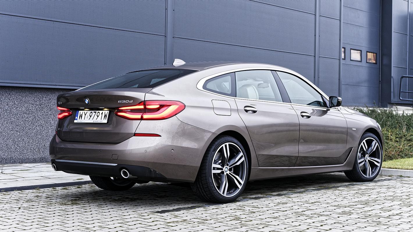 BMW Serii 6 Gran Turismo - duże, 20-calowe felgi