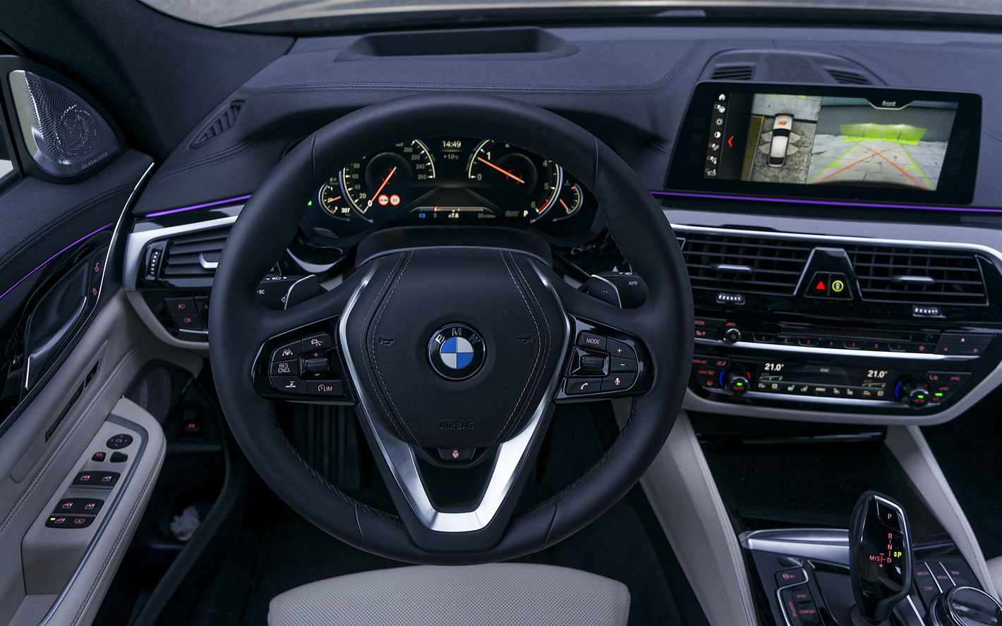 BMW Serii 6 Gran Turismo - kierownica