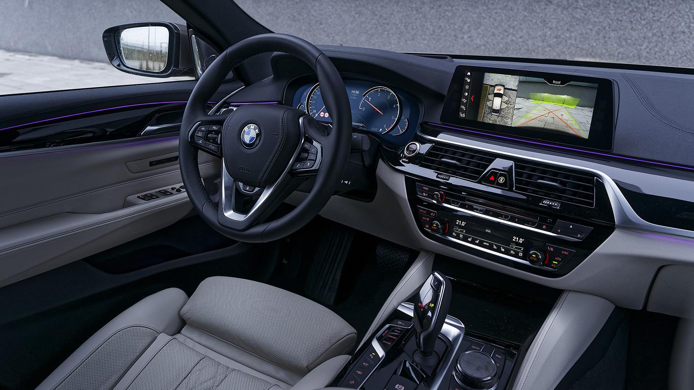 BMW Serii 6 Gran Turismo - wnętrze