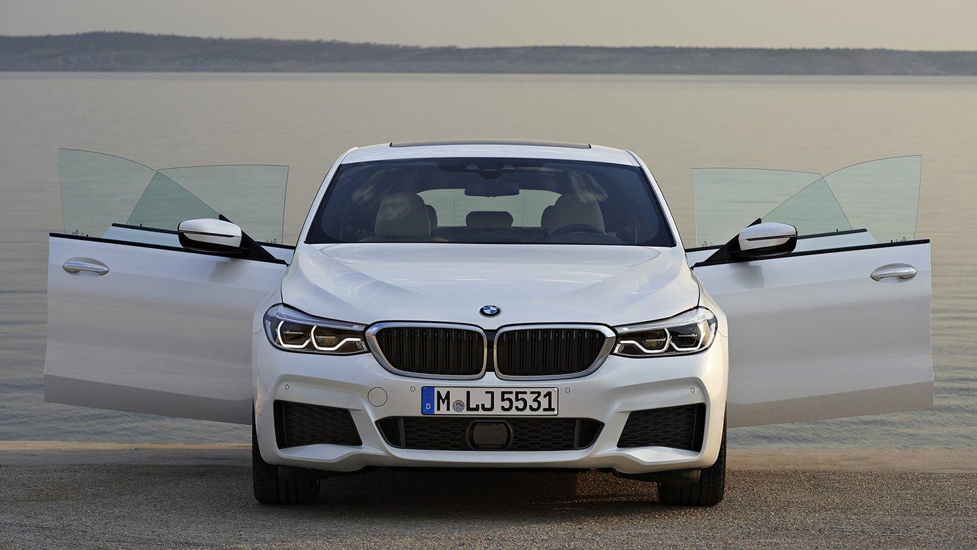 BMW Serii 6 Gran Turismo - bezramkowe drzwi