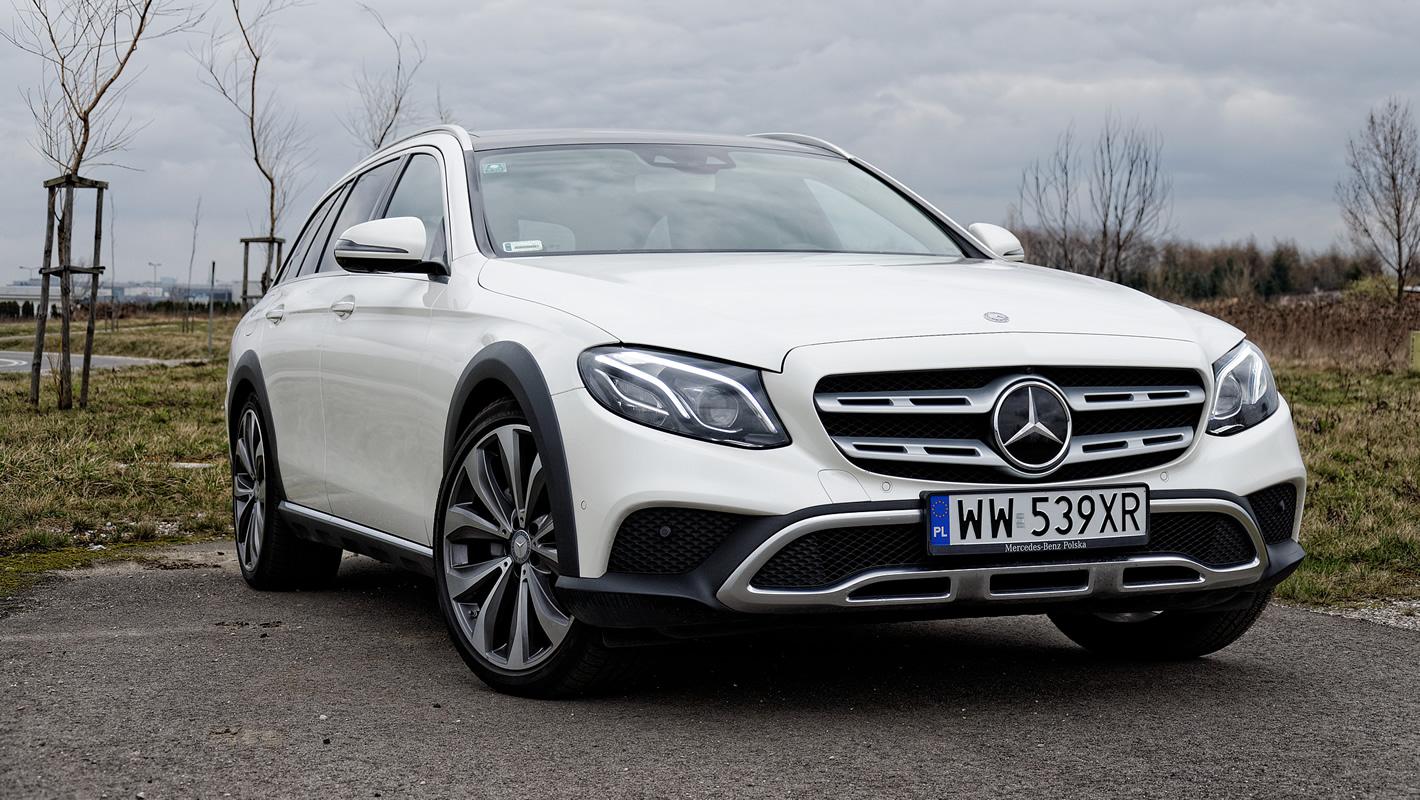 Mercedes-Benz Klasy E 4Matic All-Terrain zprzodu