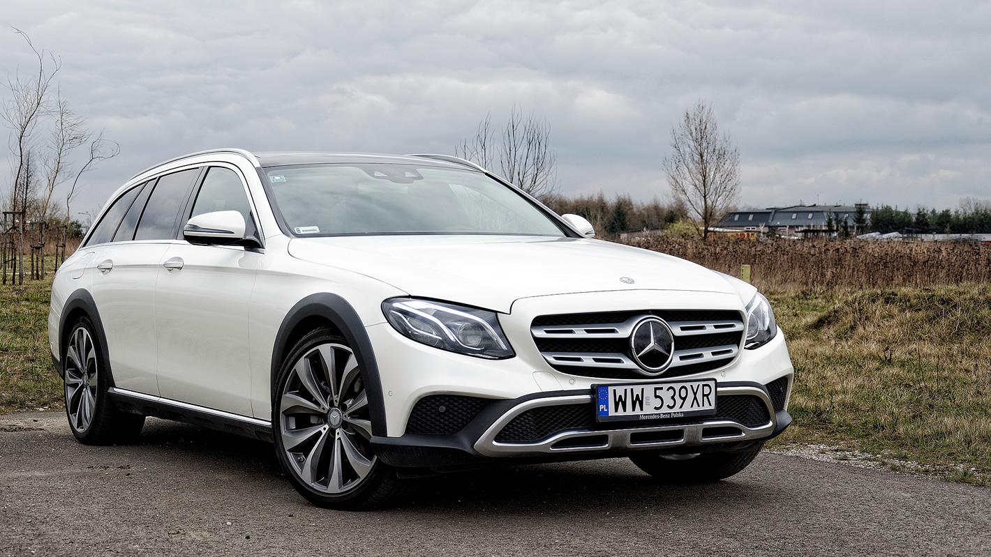 Mercedes-Benz Klasy E 4Matic All-Terrain uterenowiona stylistyka