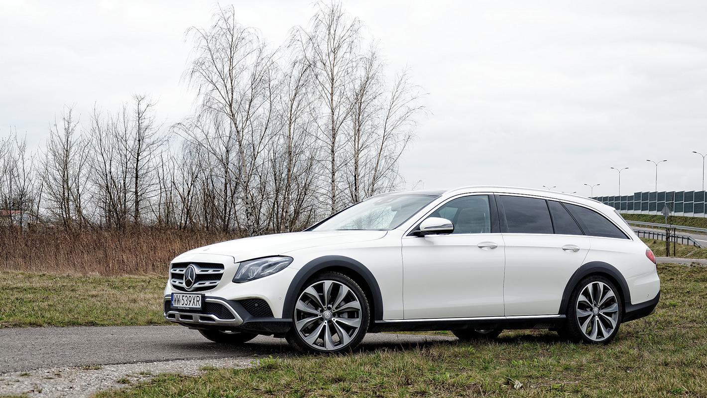 Mercedes-Benz Klasy E 4Matic All-Terrain - świetna trakcja