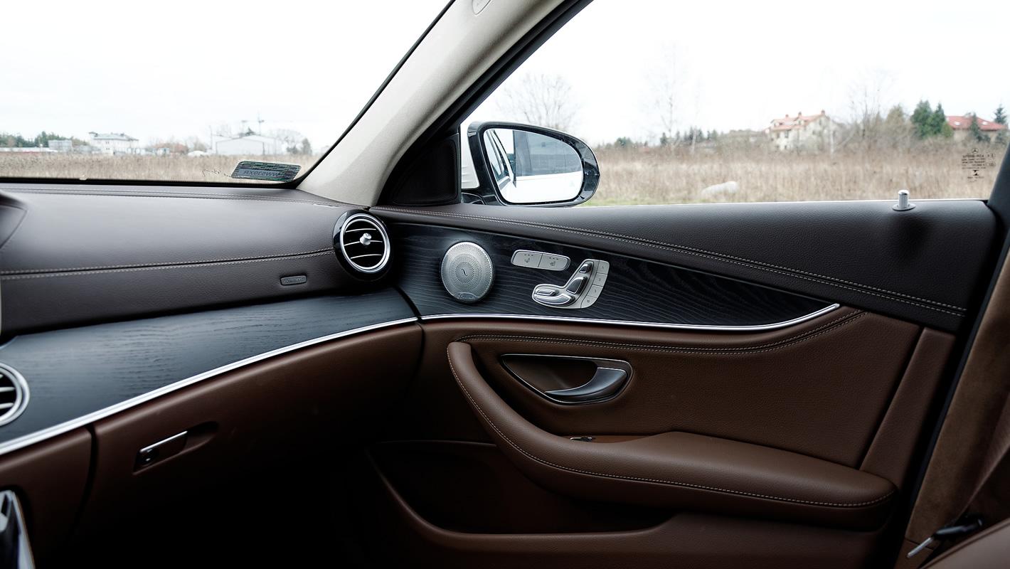 Mercedes-Benz Klasy E 4Matic All-Terrain jakość wykonania