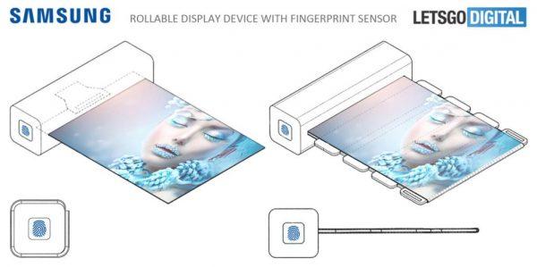 Samsung zrozwijanym wyświetlaczem