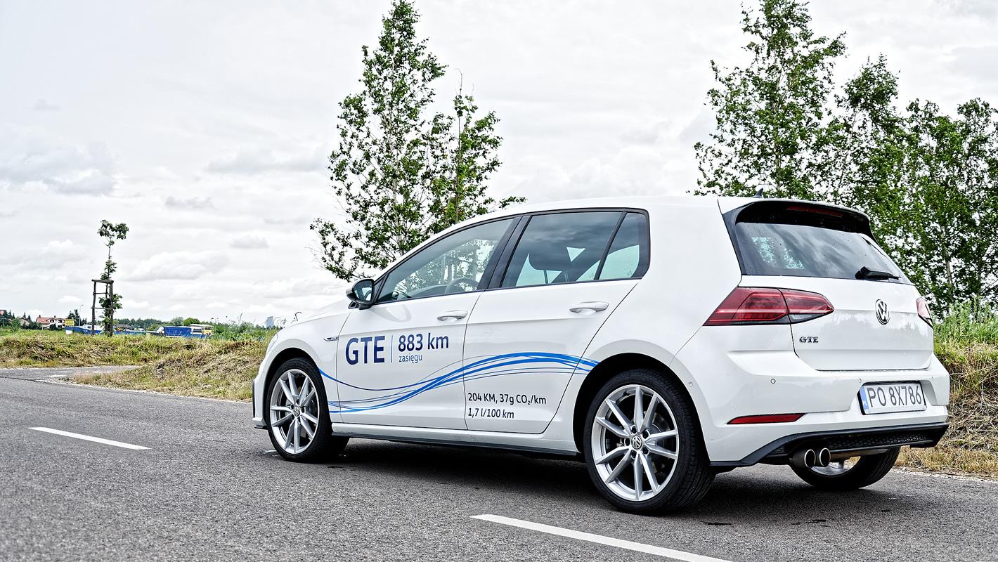 Volkswagen Golf GTE z tyłu