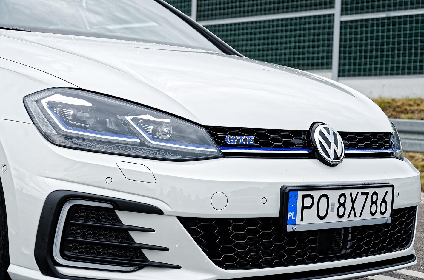 Volkswagen Golf GTE - stylistyka