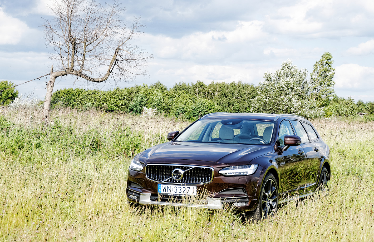 Volvo V90 Cross Country AWD offroad