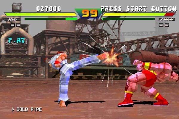 Automaty - Street Fighter EX