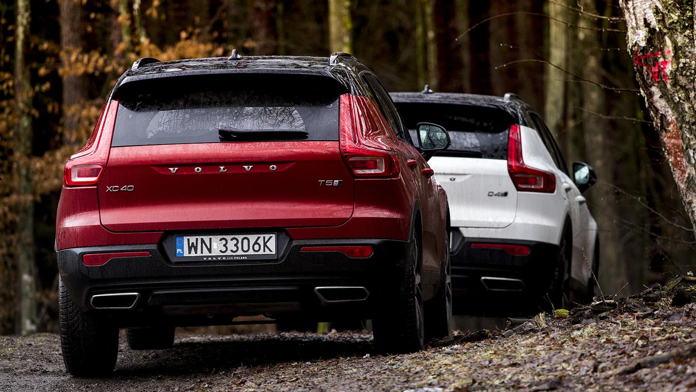 Volvo XC40 z tyłu