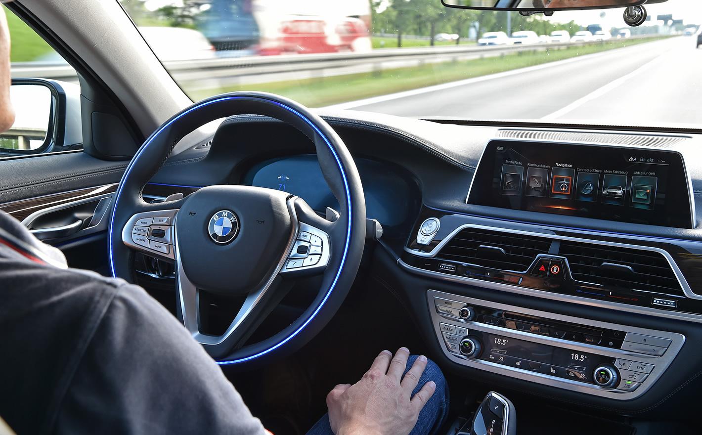 BMW w trybie autonomicznym
