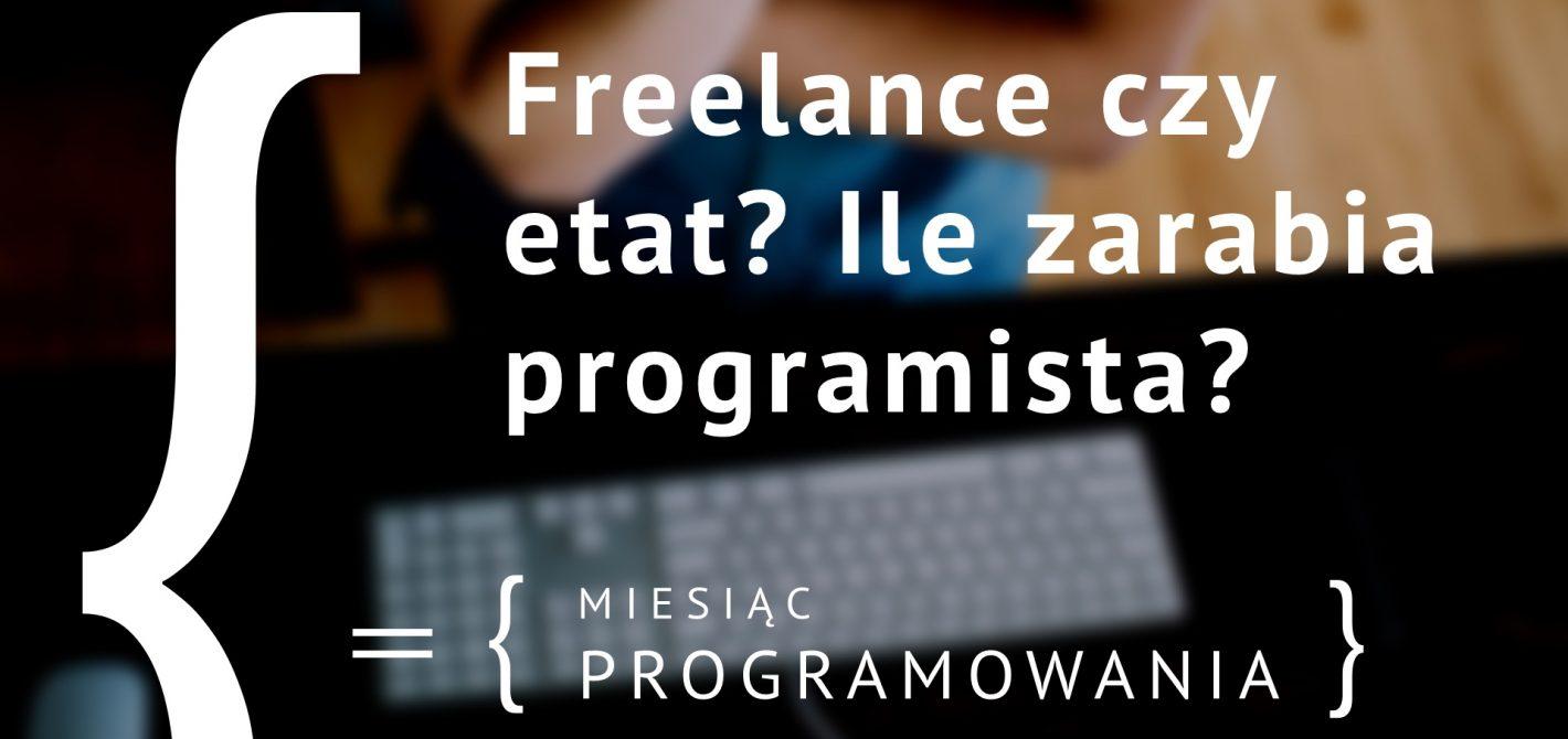 Ile zarabia programista?