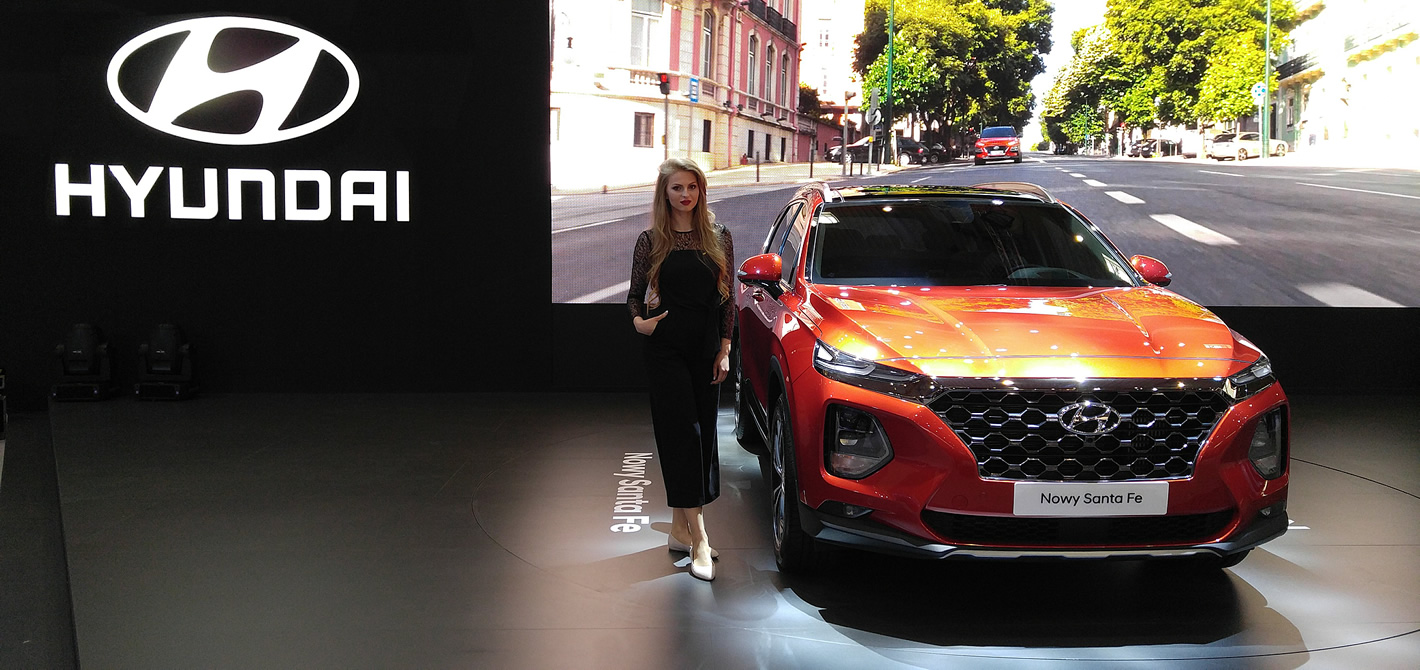 Hostessy na Poznań Motor Show 2018