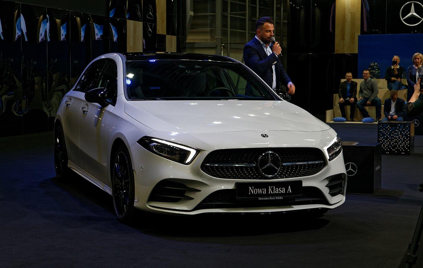 Mercedes-Benz Klasy A na Poznań Motor Show 2018