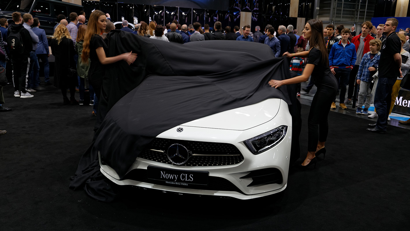 Mercedes-Benz CLS na Poznań Motor Show