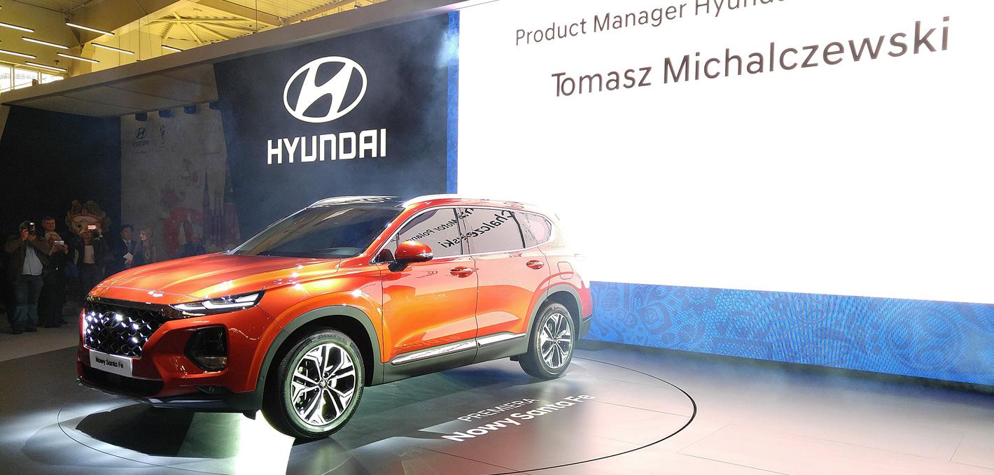 Hyundai Santa Fe na Poznań Motor Show 2018