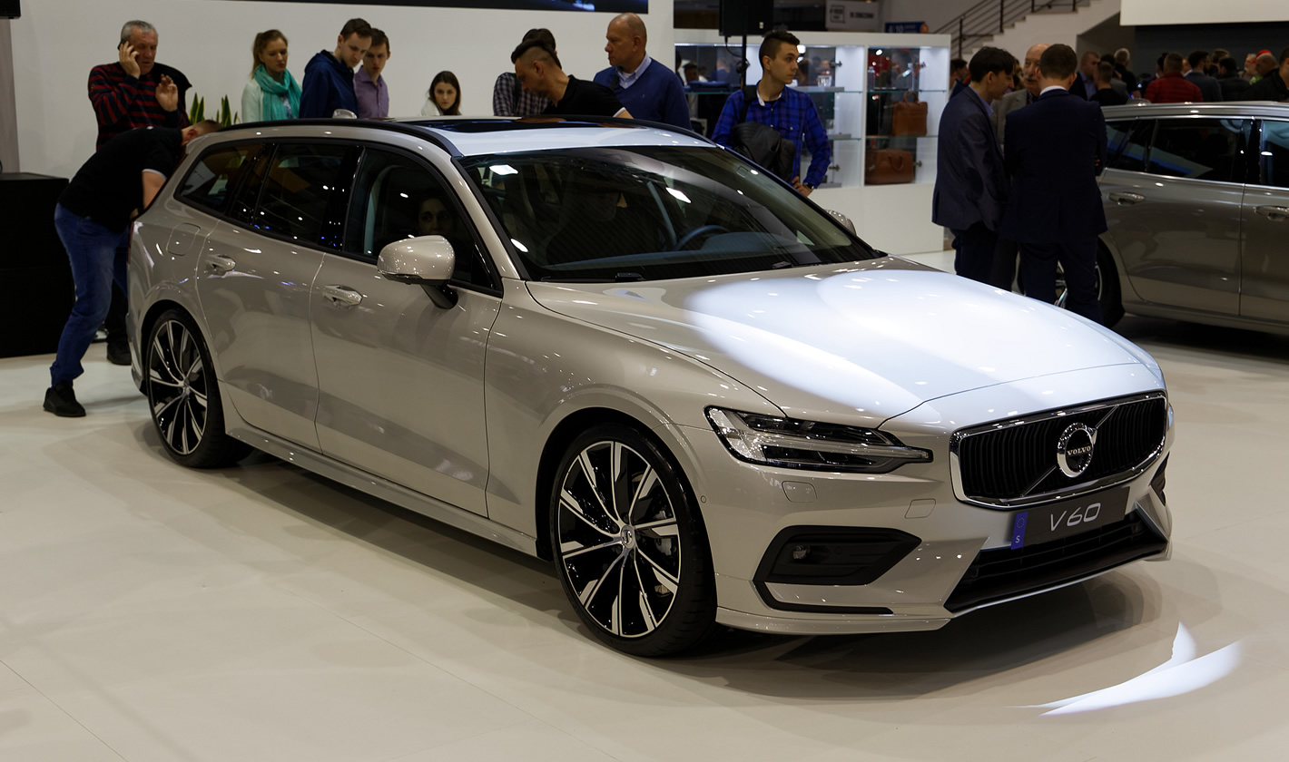 Volvo V60 na Poznań Motor Show 2018