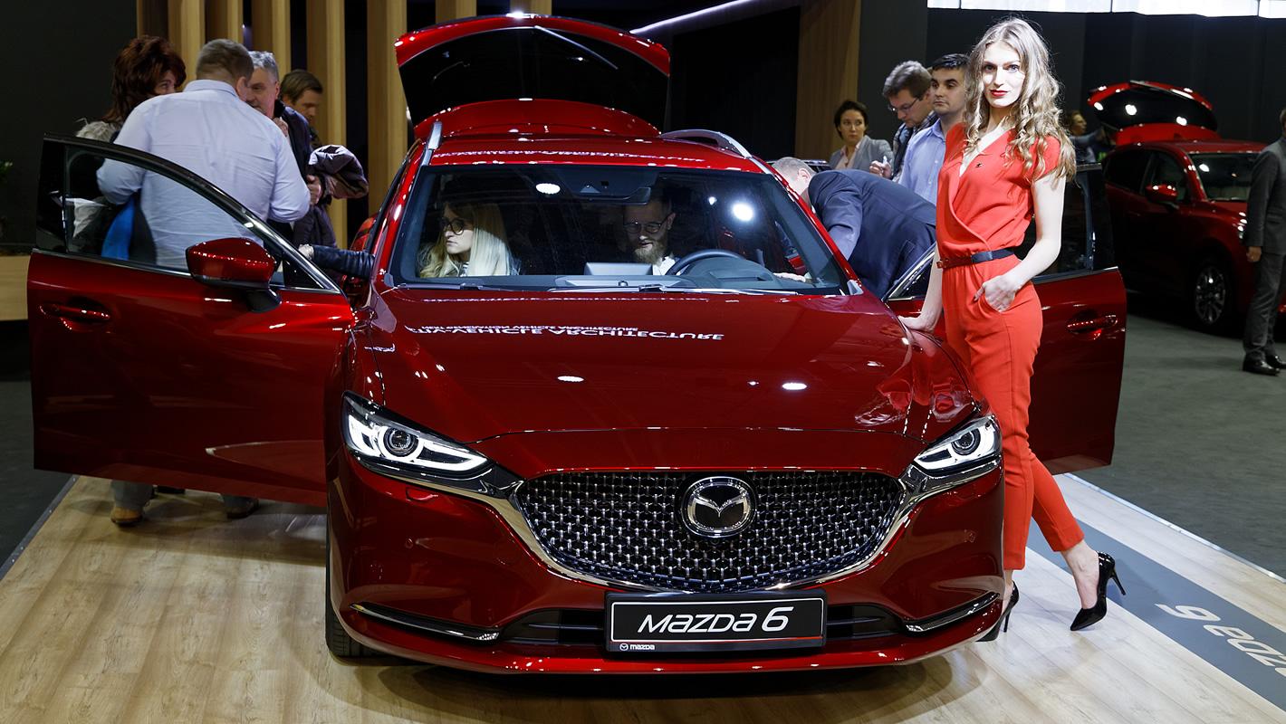 Mazda 6 Sport Kombi na Poznań Motor Show 2018