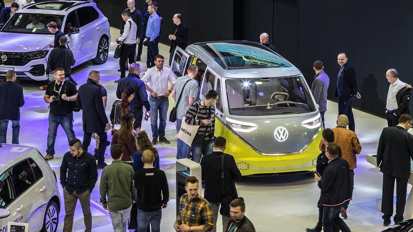 Volkswagen I.D. Buzz na Poznań Motor Show 2018