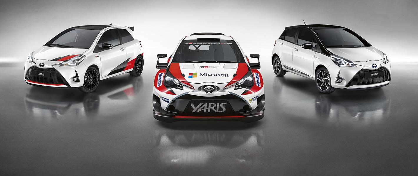 Toyota Yaris WRC oraz Yaris GRMN