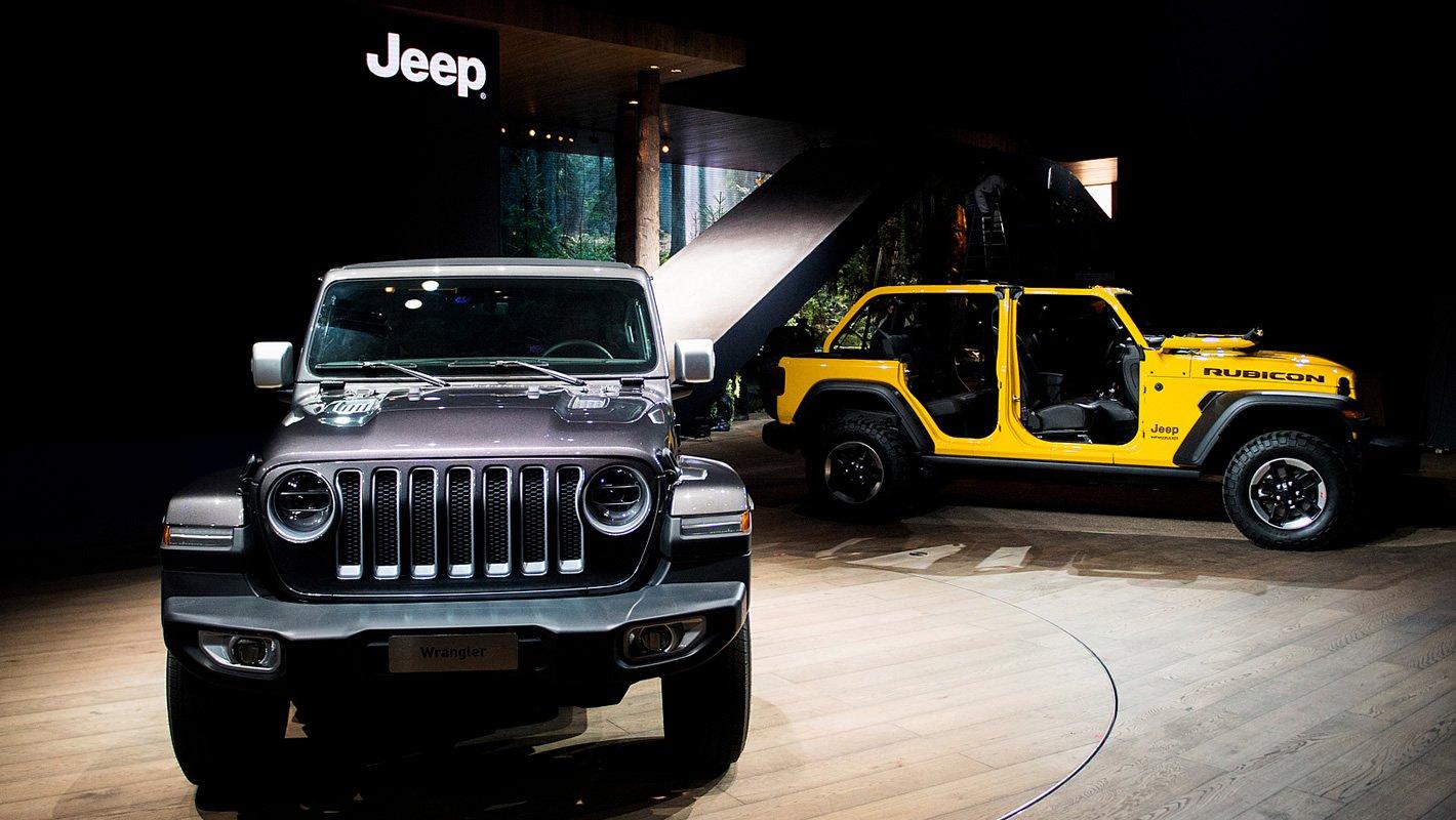 Jeep Wrangler na Poznań Motor Show 2018