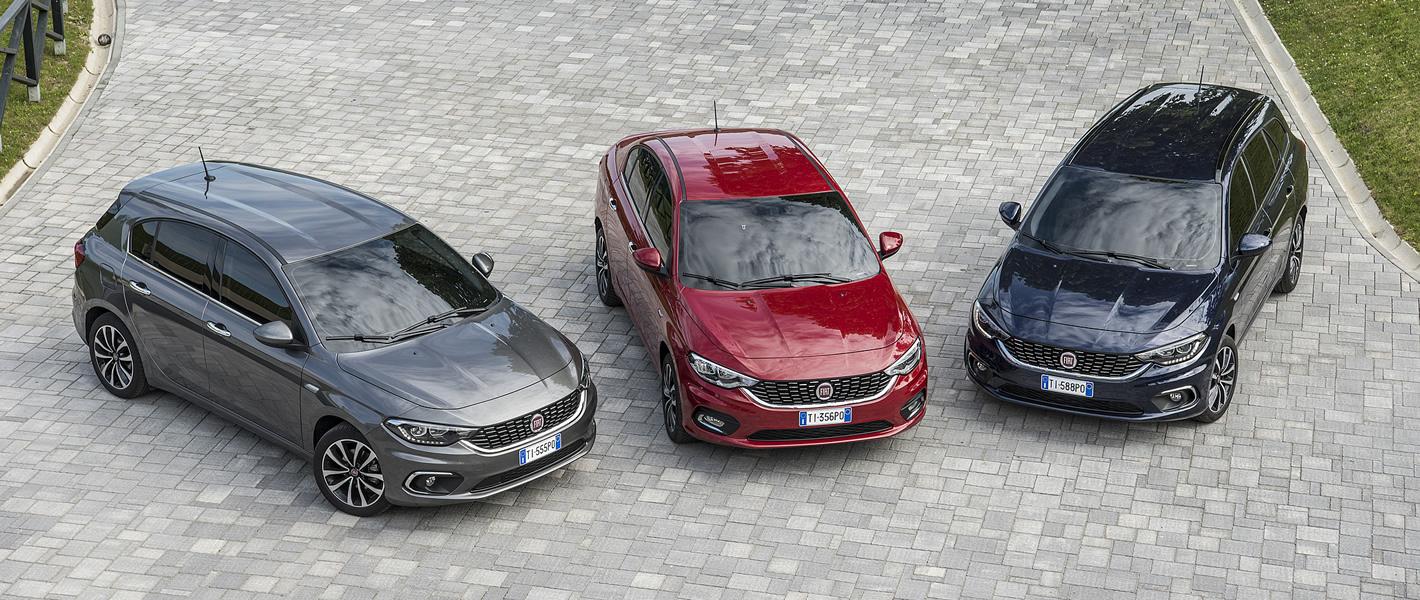 Fiat Tipo w trzech odmianach